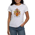 Hutten Family Crest Women's T-Shirt