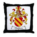 Hutten Family Crest Throw Pillow