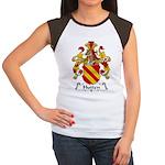 Hutten Family Crest Women's Cap Sleeve T-Shirt