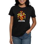 Hutten Family Crest Women's Dark T-Shirt
