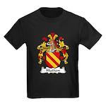 Hutten Family Crest Kids Dark T-Shirt