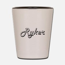 Ryker Classic Style Name Shot Glass