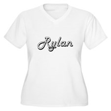 Rylan Classic Style Name Plus Size T-Shirt