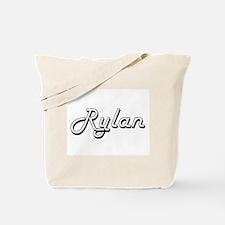 Rylan Classic Style Name Tote Bag