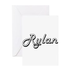 Rylan Classic Style Name Greeting Cards