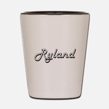 Ryland Classic Style Name Shot Glass