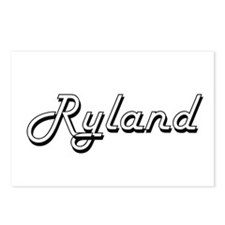 Ryland Classic Style Name Postcards (Package of 8)