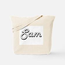 Sam Classic Style Name Tote Bag