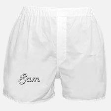 Sam Classic Style Name Boxer Shorts