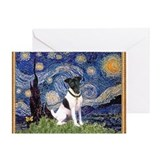 Smooth fox terrier Greeting Cards