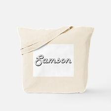Samson Classic Style Name Tote Bag
