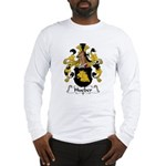 Hueber Family Crest Long Sleeve T-Shirt