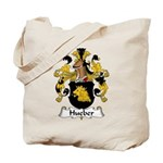 Hueber Family Crest Tote Bag