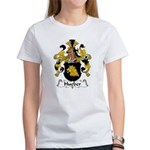 Hueber Family Crest Women's T-Shirt