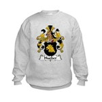 Hueber Family Crest Kids Sweatshirt