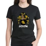 Hueber Family Crest Women's Dark T-Shirt