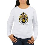 Hueber Family Crest Women's Long Sleeve T-Shirt