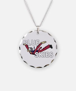 Blue Skies. Necklace