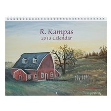 R. Kampas 2013 Wall Calendar