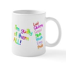 Seven Deadly Sins Mugs