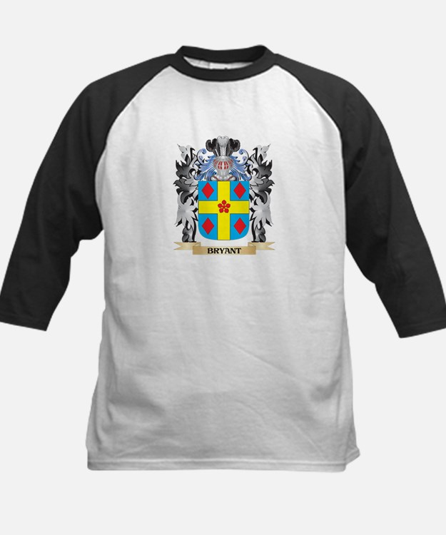 Bryant Coat of Arms - Family Crest Baseball Jersey