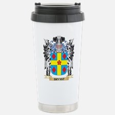Bryant Coat of Arms - F Stainless Steel Travel Mug