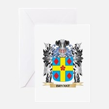 Bryant Coat of Arms - Family Crest Greeting Cards