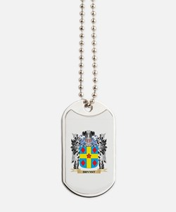 Bryant Coat of Arms - Family Crest Dog Tags