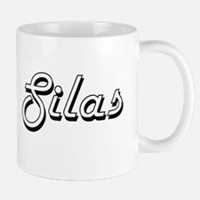 Silas Classic Style Name Mugs