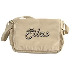 Silas Classic Style Name Messenger Bag