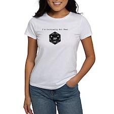 Id Critically Hit That - Black T-Shirt