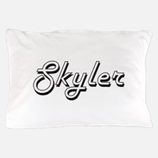 Skyler Classic Style Name Pillow Case