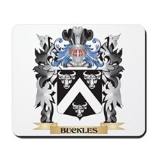 Buckles Coat of Arms - Family Crest Mousepad
