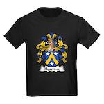 Hessling Family Crest Kids Dark T-Shirt
