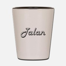 Talan Classic Style Name Shot Glass