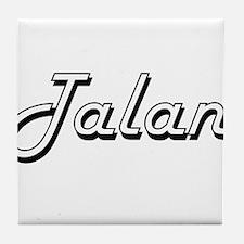Talan Classic Style Name Tile Coaster