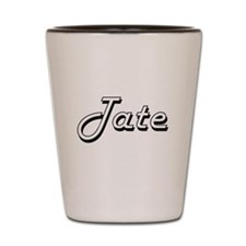 Tate Classic Style Name Shot Glass