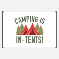 Camping Is In-Tents! Banner