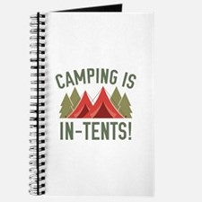Camping Is In-Tents! Journal