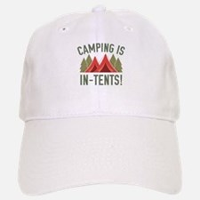 Camping Is In-Tents! Baseball Baseball Cap