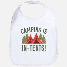 Camping Is In-Tents! Bib