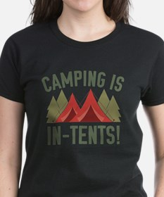 Camping Is In-Tents! Tee