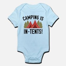 Camping Is In-Tents! Infant Bodysuit