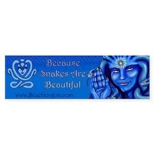 Blue Gorgon Logo Bumper Bumper Stickers