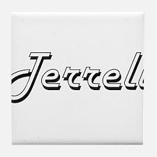 Terrell Classic Style Name Tile Coaster