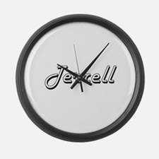 Terrell Classic Style Name Large Wall Clock