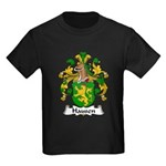 Hausen Family Crest  Kids Dark T-Shirt