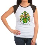 Hausen Family Crest  Women's Cap Sleeve T-Shirt