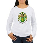 Hausen Family Crest  Women's Long Sleeve T-Shirt