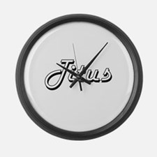 Titus Classic Style Name Large Wall Clock